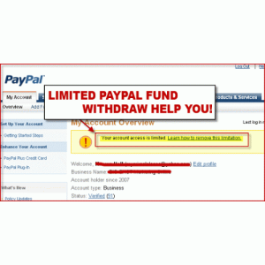 jasa withdraw paypal limit 180 hari